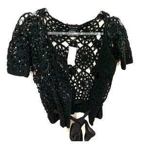 Crochet and sequins top 😍